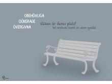 Vårutställning 2018, Exkluderande design, Patricia Cascalheira, Arkitektur, visualisering och kommunikation, Malmö universitet