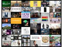 Bildkollage över de nominerade i 100-wattaren 2014