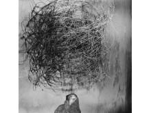 """Roger Ballen: """"Twirling Wires"""". Ed. 2/6. Betitlet, dateret og nummereret og signeret Roger Ballen verso (tjekkes). Sølvgelatine print. Indrammet. 80 x 80 cm. Hammerslag: 205.000 kr."""