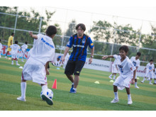 Panasonic and Myanmar Football Federation Kick Off the First GAMBA Osaka Football Clinic for Youths