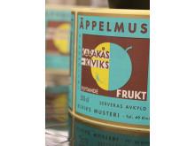 Smaken av en plats - Karakås Äppelmust, etikett