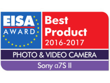 EUROPEAN_PHOTO_VIDEO_CAMERA_2016-2017_-_Sony_7S_II_Logo_mit_Shadow