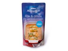 Abba Middagsklart Räk & dillsås för ugnsbakad torsk (250 g)