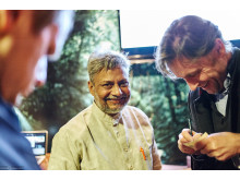 DER WATERMAN FASZINIERTE & INSPIRIERTE AUF DER INDIA WEEK IN HAMBURG
