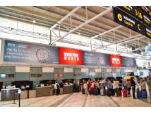 Ny stor reklamyta invigd på Göteborg Landvetter Airport