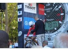 Thea Thorsen på startrampen sykkel-VM 2013