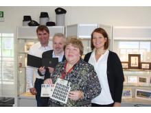 Feirer 175 årsjubileet for verdens første frimerke One penny black