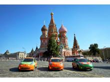 Bridgestones Ecopia-däck och Nissan LEAF på rekordresa