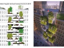 New Shanghai building vertical forest