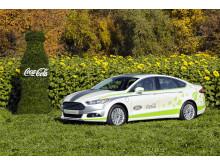 Ford Fusion Energi -hybridiauto hyödyntää Coca-Colan PlantBottle –teknologiaa