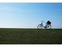 Cykel på Langeoog