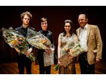 Vinnare i Ljunggrenska tävlingen 2016: Jacob Lidåkra, Bohumír Stehlík,