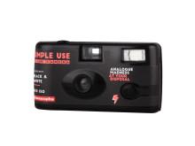 Lomography Simple Use Film Camera_Black_White_quarter left