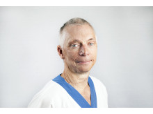 Fredrik Huss, överläkare brännskadecentrum, Akademiska sjukhuset