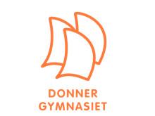 Donner gymnasiet logo