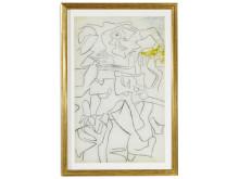 Willem de Kooning. Vurdering: 1,6–2,2 mio. kr.