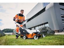 STIHL RMA 765V akkukäyttöinen ruohonleikkuri jopa 3100 neliömetrin nurmialoille