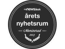 Årets Nyhetsrum nominerad