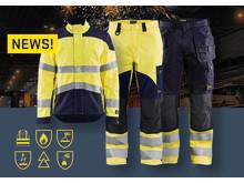 Blåkläder Flammschutz und Multinorm Neuigkeiten - inherent