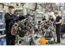 Produktion af Mercedes-AMG V8-motor