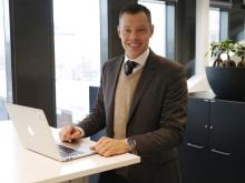 Magnus Lundin VD på SISP glad över Christian Berger i valet av ordförande i styrelsen.