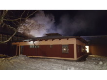 Rökutveckling brand Hackås skola