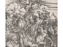 Impressions. Five Centuries of Woodcuts. Albrecht Dürer, The Four Horsemen, 1498.