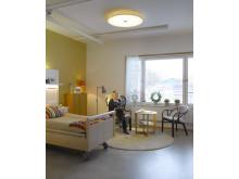 Humana äldreboende i Gävle - belysning  av lägenheterna