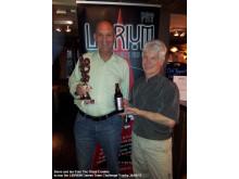 Steve Haimes (left) with Ian Hare... Team Three Crowns!