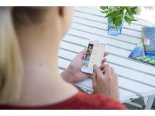Kuvien tilaamista suoraan puhelimesta