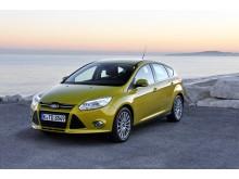 Topplacering og ærespris til ny Ford Focus ved kåringen af Årets Bil i Danmark 2012