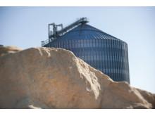 Sågspån och silo för förvaring av Pellets, Kinnared