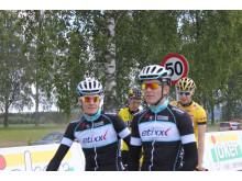 Markus og Daniel Hoelgaard før start i NM U23