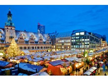 Leipziger Weihnachtsmarkt vor dem Alten Rathaus