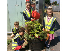Gardening, Angmering station partnership