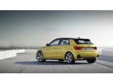Audi A1 (Python Yellow) bagfra