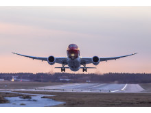 Norwegian's 787 Dreamliner. Foto: David Charles Peacock