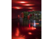 Lights in Alingsås Livingroom by Workshop Head Reinhard Germer