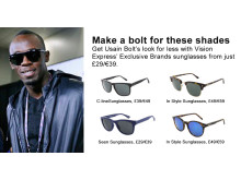 Usain Bolt- Get the look for less