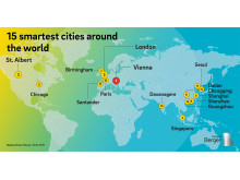 15 smartest cities around the world