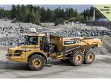 Självgående dumper Volvo A25F - autonom maskinprototyp