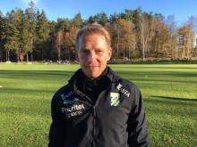 Fredrik Larsson, fysioterapeut för Sveriges herrlandslag i fotboll