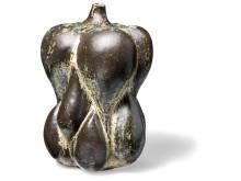 Axel Salto: Fruit shaped stoneware vase