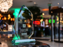 Clarion Hotel Sign - We Care Hotel of the Year 2019.jpg