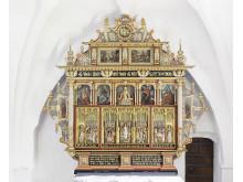 Altertavlen i Vejrum Kirke