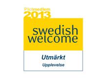 """Swedish Welcome """"Utmärkt Upplevelse"""""""