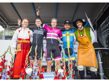 Tre bästa herrarna Cykelvasan 90 2017