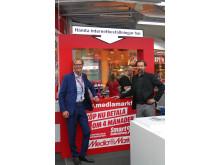 Magnus Petterson, Omnikanalschef på Media Markt och Mats Forsberg, VD och medgrundare av Urb-it