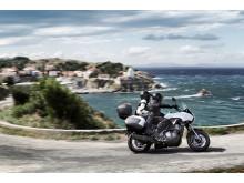 Kawasaki 2012 års Versys 1000 Actionbild