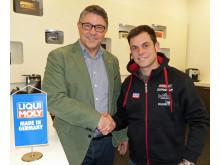 Motorcykel: Liqui Moly blir huvudsponsor till världsmästaren i Moto3-klassen, Sandro Cortese